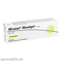 Micotar Mundgel, 100 G, Dermapharm AG