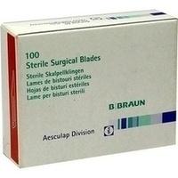 Skalpell Aesculap Klingen BB511, 100 ST, Brinkmann Medical Ein Unternehmen der Dr. Junghans Medical GmbH