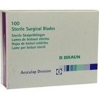 Skalpell Aesculap Klingen BB515, 100 ST, Brinkmann Medical Ein Unternehmen der Dr. Junghans Medical GmbH