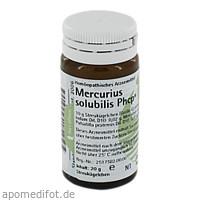 Mercurius solubilis Phcp, 20 G, Phönix Laboratorium GmbH