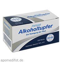 Alkoholtupfer PARAM, 100 ST, Param GmbH