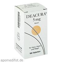 Deacura 5mg, 100 ST, Dermapharm AG