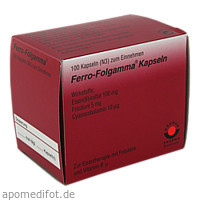 FERRO FOLGAMMA, 100 ST, Wörwag Pharma GmbH & Co. KG