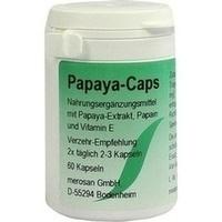 Papaya-Caps, 60 ST, merosan GmbH