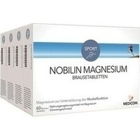 Nobilin Magnesium Brausetabletten, 4X60 ST, Medicom Pharma GmbH