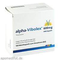 alpha-Vibolex 600 HRK Kapseln, 100 Stück, Cnp Pharma GmbH