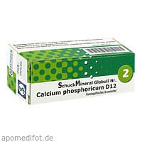 SchuckMineral Globuli 2 Calcium phosphoric.D12, 7.5 G, Schuck GmbH Arzneimittelfabrik