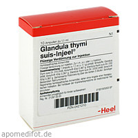 GLANDULA THYM SUI INJ O, 10 ST, Biologische Heilmittel Heel GmbH