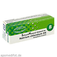 SchuckMineral Globuli 8 Natrium chloratum D 6, 7.5 Gramm, Schuck GmbH Arzneimittelfabrik