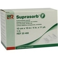 Suprasorb F Folienverband gerollt unster.10cmx10m, 1 ST, Bios Medical Services GmbH