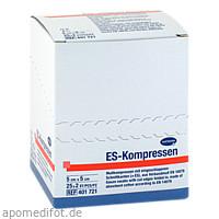 ES-KOMPRESSEN steril 5x5cm 8f, 25X2 ST, 1001 Artikel Medical GmbH