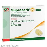 SUPRASORB H Hydrokoll.Verb.sacrum 14x16 cm, 5 ST, Lohmann & Rauscher GmbH & Co.KG