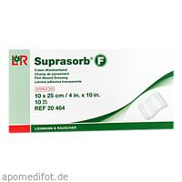 Suprasorb F Folienwundverband 10x25cm, 10 ST, Lohmann & Rauscher GmbH & Co. KG