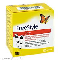 FreeStyle Lite Teststreifen ohne Codieren, 100 ST, Abbott GmbH