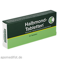 HALBMOND, 20 ST, Cheplapharm Arzneimittel GmbH