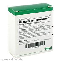 HAMAMELIS HOMACCORD, 10 ST, Biologische Heilmittel Heel GmbH