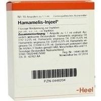 HAMAMELIS INJ, 10 ST, Biologische Heilmittel Heel GmbH