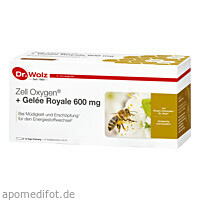 Zell Oxygen+Gelee Royale 600mg, 14X20 ML, Dr. Wolz Zell GmbH