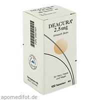 Deacura 2.5mg, 100 ST, Dermapharm AG