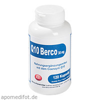Q 10 Berco 30mg, 120 ST, Berco-ARZNEIMITTEL