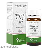 Pflügerplex Sulfur jod. 309, 100 ST, Homöopathisches Laboratorium Alexander Pflüger GmbH & Co. KG