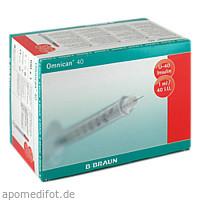 Omnican 40 1.0ml Insulin U-40 0.30x8mm einzelverp., 100X1 ST, B. Braun Melsungen AG