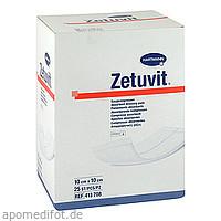 ZETUVIT Saugkompresse steril 10x10cm CPC, 25 ST, Count Price Company GmbH & Co. KG