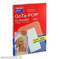 GoTa-POR PU Wundfilm 15x10cm steril, 5 ST, Gothaplast GmbH