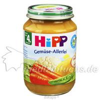 HIPP 4070 GEMUESE ALLERLEI, 190 G, Hipp GmbH & Co.Vertrieb KG