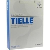Tielle Hydropolymerverband 7cmx9cm, 10 ST, Bios Medical Services GmbH