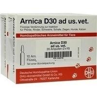 ARNICA D 30 Ampullen vet., 2X10X5 ML, DHU-Arzneimittel GmbH & Co. KG
