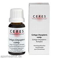 CERES Ginkgo-Dryopteris comp., 20 ML, Ceres Heilmittel GmbH