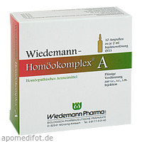 Wiedemann Homöokomplex A, 10X2 ML, Wiedemann Pharma GmbH