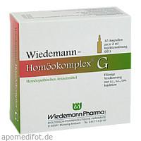 Wiedemann Homöokomplex G, 10X2 ML, Wiedemann Pharma GmbH