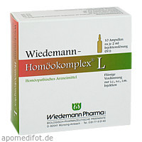 Wiedemann Homöokomplex L, 10X2 ML, Wiedemann Pharma GmbH