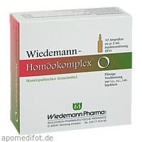 Wiedemann Homöokomplex O, 10X2 ML, Wiedemann Pharma GmbH