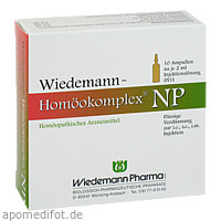Wiedemann Homöokomplex NP, 10X2 ML, Wiedemann Pharma GmbH