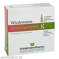 Wiedemann Homöokomplex R, 10X2 ML, Wiedemann Pharma GmbH