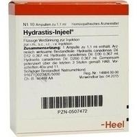 HYDRASTIS INJ, 10 ST, Biologische Heilmittel Heel GmbH