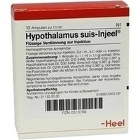 HYPOTHALAM SUIS INJ ORG, 10 ST, Biologische Heilmittel Heel GmbH
