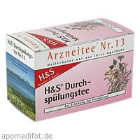 H&S Durchspülungstee, 20X2.0 G, H&S Tee - Gesellschaft mbH & Co.
