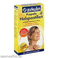 Zirkulin Propolis-Halspastillen, 30 ST, DISTRICON GmbH