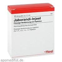 JABORANDI INJ, 10 ST, Biologische Heilmittel Heel GmbH