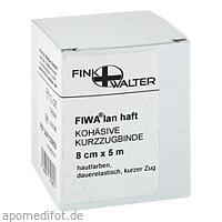 Kompressionsbinde kohäsiv mit kurzem Zug 8cmx5m, 1 ST, Fink & Walter GmbH