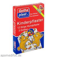 Gothaplast Kinderpflaster Strips, 12 ST, Gothaplast GmbH
