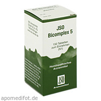 JSO BICOMPLEX HEILM NR 5, 150 ST, Iso-Arzneimittel GmbH & Co. KG