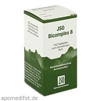 JSO BICOMPLEX HEILM NR 8, 150 ST, Iso-Arzneimittel GmbH & Co. KG