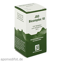JSO BICOMPLEX Heilmittel Nr. 10, 150 ST, ISO-Arzneimittel GmbH & Co. KG
