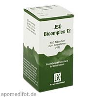 JSO BICOMPLEX HEILM NR 12, 150 Stück, Iso-Arzneimittel GmbH & Co. KG