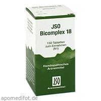 JSO BICOMPLEX HEILM NR 18, 150 ST, Iso-Arzneimittel GmbH & Co. KG